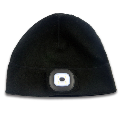 High Quality Wholesale Safe Warm Customized LED Beanie Winter hat Charge By USB