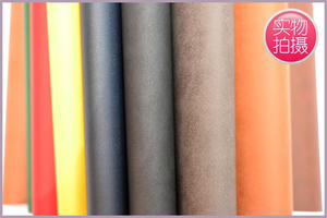 Imported Napa pattern leather paper with a variety of colors