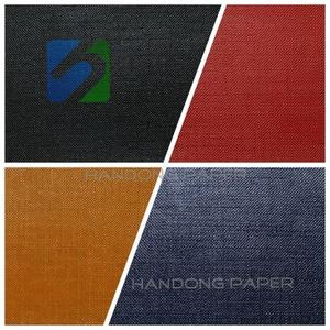 PVC Coated Paper For Book Binding/PVC coating paper for moon case box/PVC Film Paper