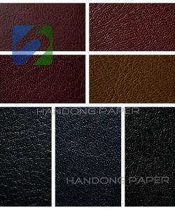 PU leather paper