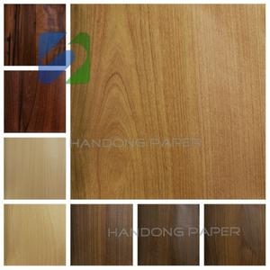 Wood grain paper decorative paper is a kind of skin, its raw material is wood pulp paper commonly, intensity is bigger