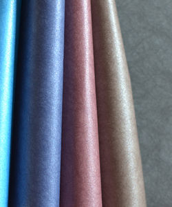 PVC coated paper for bookbinding and covering