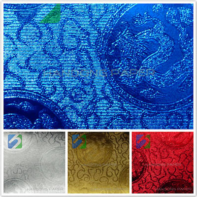 Bright color PVC leather paper