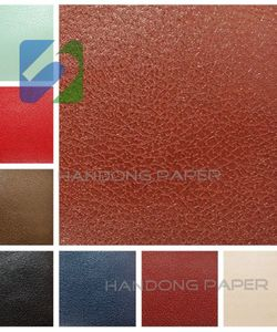 Colorful PVC Coated Paper