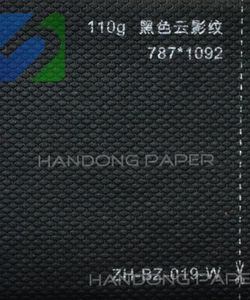 Special paper fancy embossed shining paper
