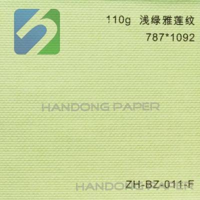Colored embossed fancy YaLian paper