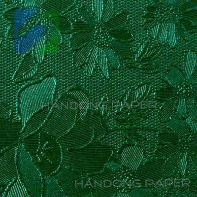 Tea pattern paper-embossed paper