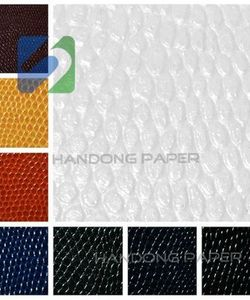 Lizard pattern PU leather paper