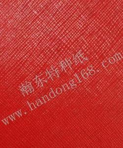 Red PVC Paper Grid Special Paper