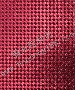 Red PVC small braided pattern