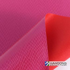 PU leather paper Product is suitable for all kinds of books,other packaging.