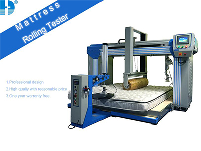 Working principle of mattress durability tester