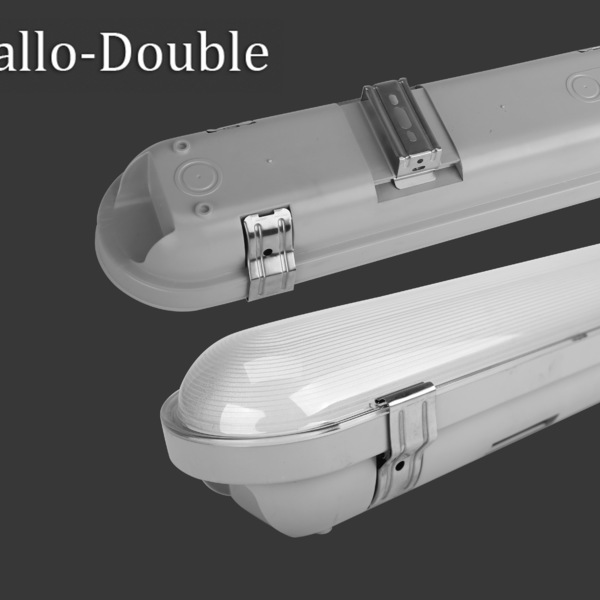 T-allo-Double  of vapor tight light dimmable led bulkhead light