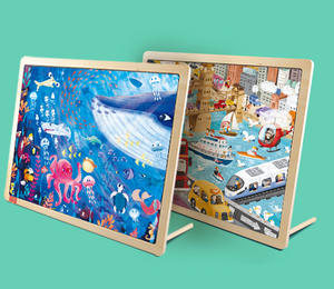 What are the benefits of cardboard jigsaw puzzles?