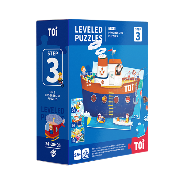 TOI leveled puzzles Paper Jigsaw Puzzles For Kids