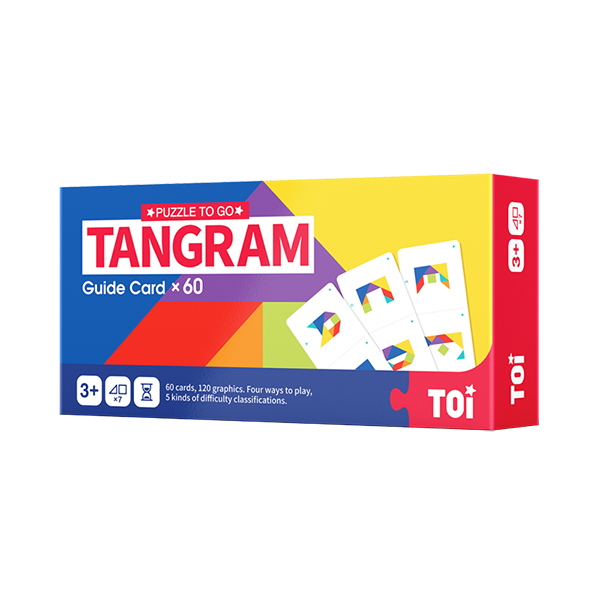 TOI Tangram Educational Jigsaw Puzzle Toy For Kids
