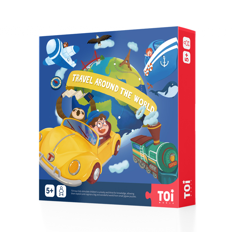TOI Travel Around the World board game
