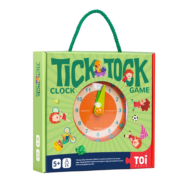 TOI Tick-tock Clock board game