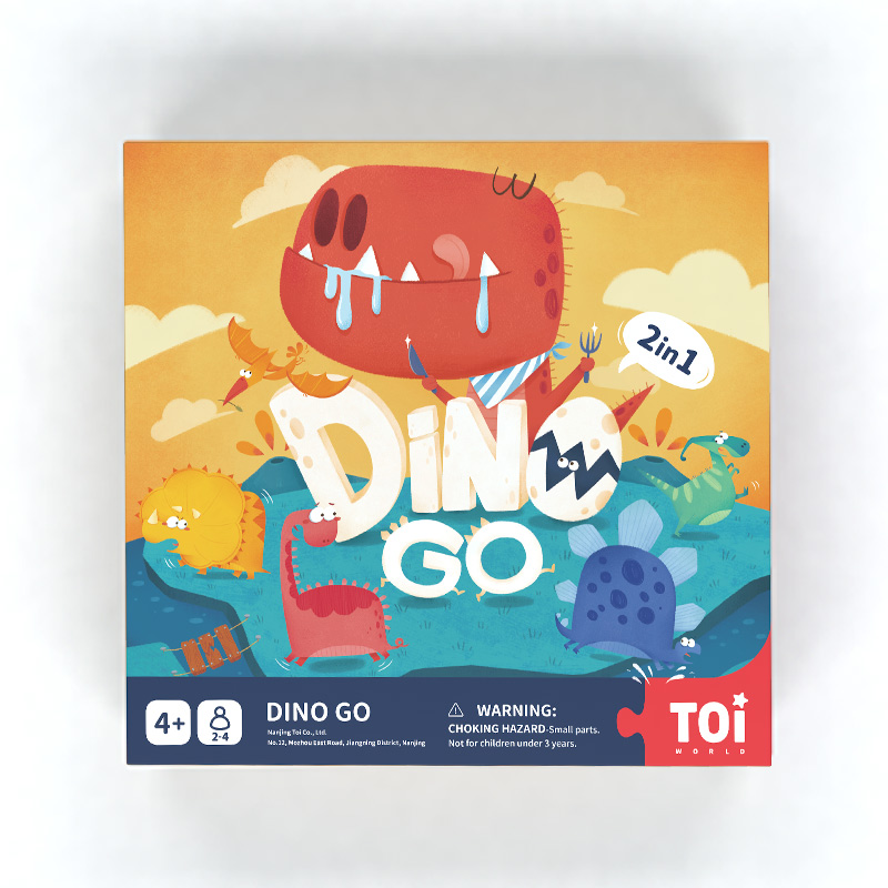 TOI  Dino Go Chess Games Educational Game For Kids