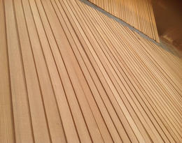 Teak Decking Natural Drying