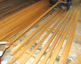 Teak Decking Picking By Hand