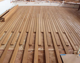 Teak Decking Array