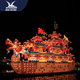 Playground Chinese Lantern Boat Festival Lakeside Decoration