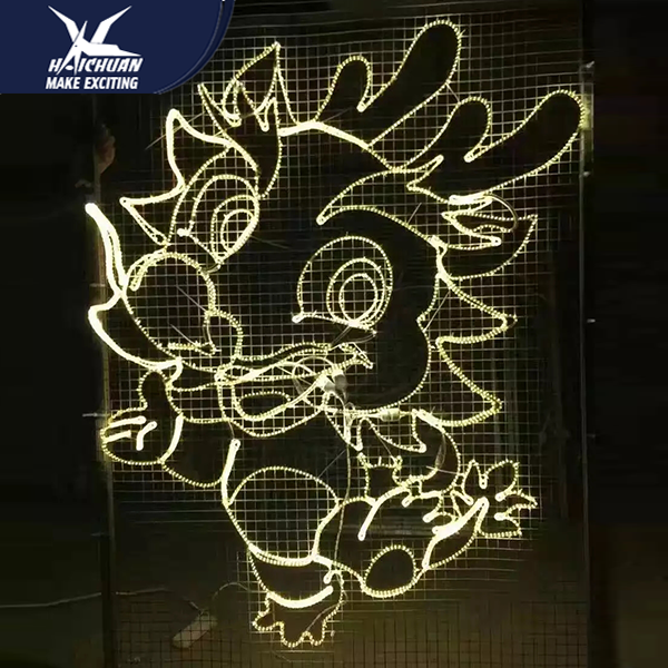 Led Light Beautiful Lantern Festival Them Park Lighting Decoration