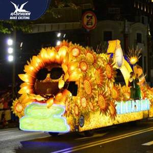 Christmas Chinese Cartoon Festival Waterproof Parade Floats For Sale