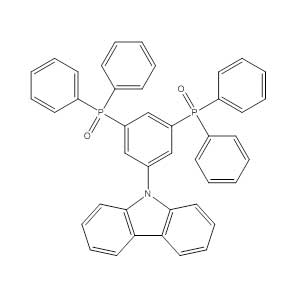 (5-(9H-carbazole-9-yl)-1,3-phenylene)bis(diphenylphosphine oxide)-1256573-07-5