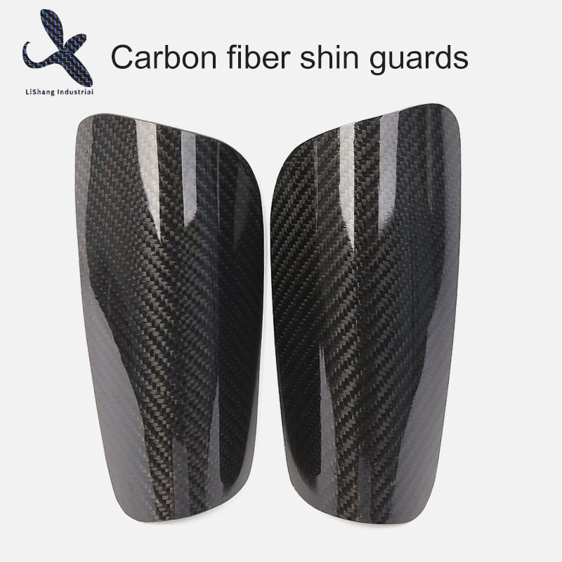 Carbon fiber shin guards
