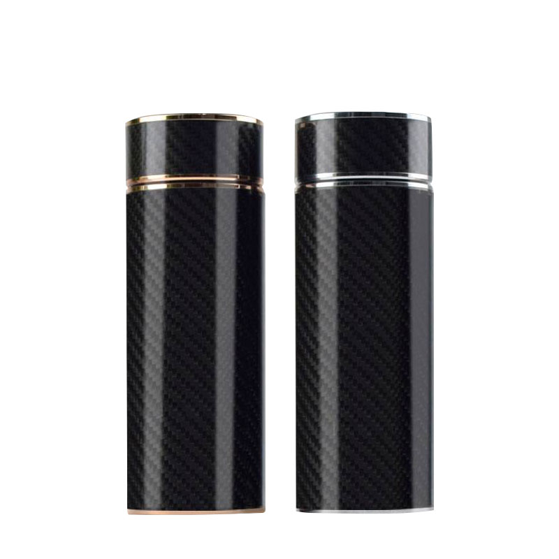 Carbon fiber vacuum thermos bottle