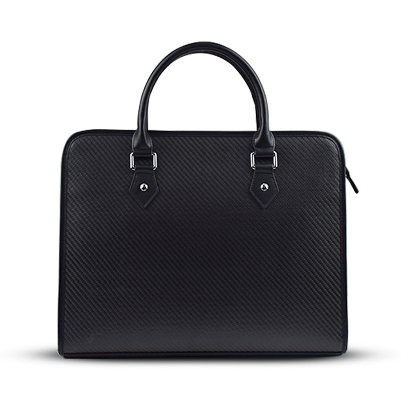 Carbon fiber business briefcase