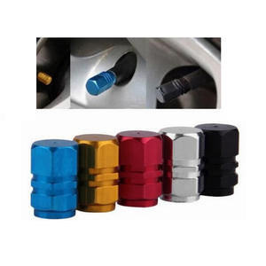 Car Wheel Tires Valves Tyre Stem Air Caps Airtight Cover
