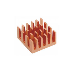Custom Heatsink PCB Brass Parts CNC milling Machining