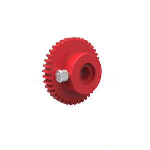 Custom Plastic Wheel Gear by CNC Machining
