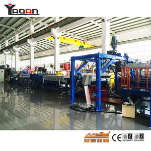 PP PC PET PVC Corrugated Roofing Sheet Machine