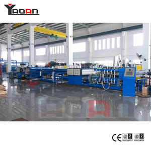 China Custom-made PP hollow flute sheet extrusion machine manufacturers