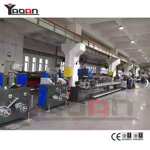 High Output PP Packing Bale Strap Band Extrusion Machine Line