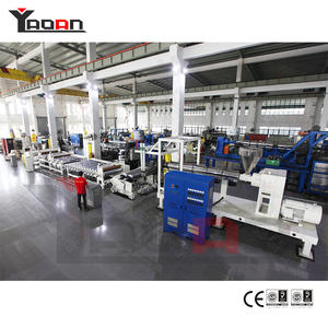 Customized PP colorful ribbon film sheet extrusion machine factory