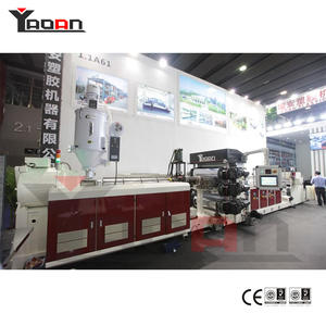 PP PE PS PET PC ABS Plastic Sheet Extrusion Machine