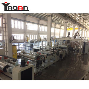 Parallel twin screw extruder PET sheet extrusion machine manufacturers suppliers