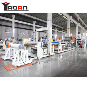 China PP sheet machine film sheet extruder  for stationery file folder cover