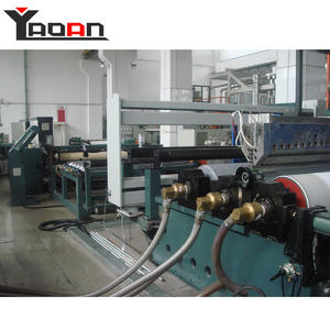 China TPU film extrusion machine for artificial leather clothes laminating