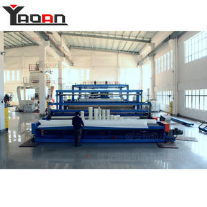 6 Meters Construction Use Water Proof PE Geomembrane Sheet Machine