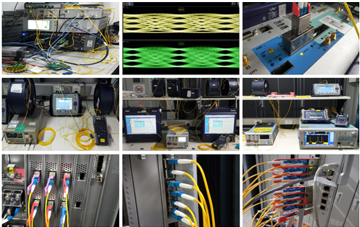 The second evaluation project of the 5G optical module has been officially completed.