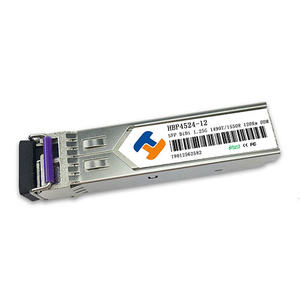 China Customized 1.25Gbps SFP Bi-Directional Transceiver 120km high quality factory suppliers manufacturers price