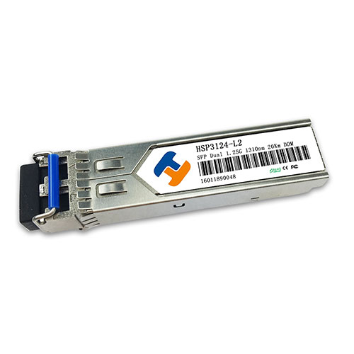 HSP3124-L2D 1310nm 1.25Gbps SFP Transceiver 20km Reach