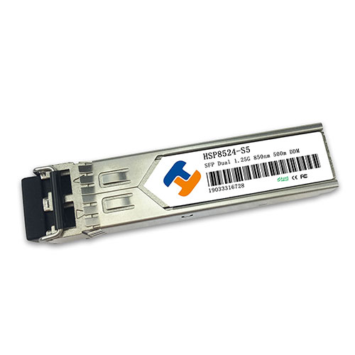 850nm 1.25Gbps SFP Transceiver 500m