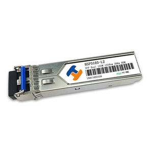 China Customized HSP3103-L2 1310nm 155Mbps SFP Transceiver 20km Reach  high quality Low price